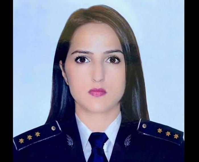 Ea este polițista de frontieră-erou, care a intrat într-o casă în flăcări pentru a salva o viață! Andreea se afla în timpul liber / FOTO