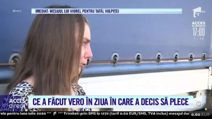 """Ce a făcut Vulpița în ziua în care a hotărât să se despartă de Viorel! Lacrimi și hotote de plâns! """"Mi-e frică tare!"""" / VIDEO"""
