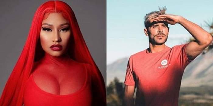 """Nicki Minaj, noapte pasională cu Zac Efron! """"A fost cel mai bun amant""""!"""