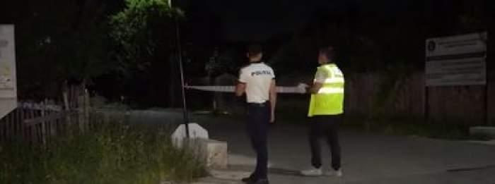 Un bărbat din Dâmbovița, băut, s-a electrocutat pe stâlpul, de pe care amenința că se aruncă. Victima se luptă acum pentru a supraviețui