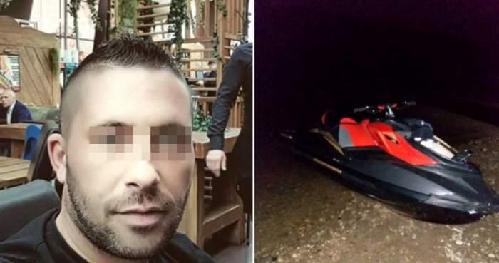 Temut interlop din Giurgiu, mort pe loc după ce a intrat cu skijetul într-o barjă!