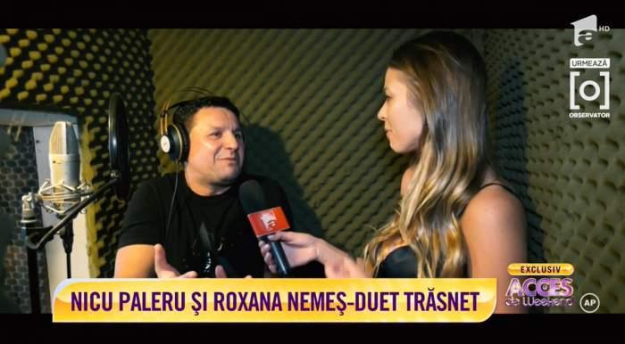 """Roxana Nemeș și Nicu Paleru, colaborare de excepție! Cei doi """"țin dragostea cu anul"""""""