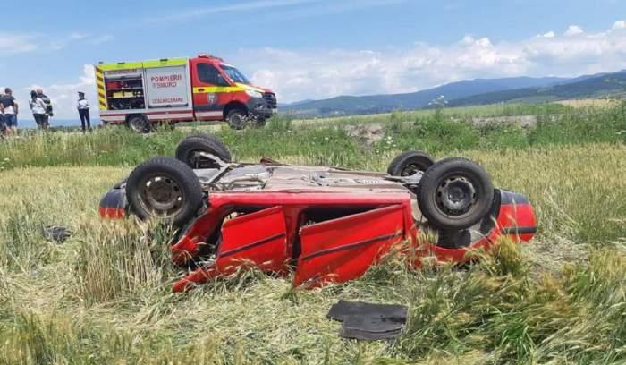 Accident grav în Covasna! Victimele, 12 persoane, printre care și copii! A fost activat Planul Roșu de intervenție!