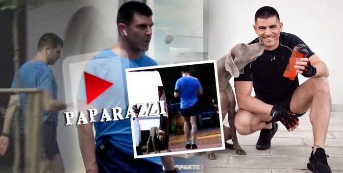 Dragoș Bucurenci și gestul său din plină stradă! Ce a făcut prezentatorul TV, după ce a ieșit cu cățelul la plimbare! / VIDEO PAPARAZZI