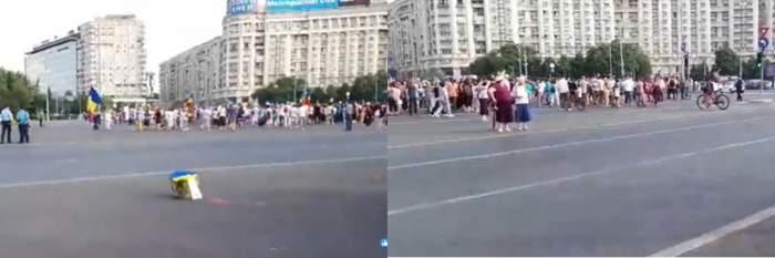 Amenzi uriașe pentru protestatarii din Piața Victoriei! Jandarmii au aplicat mai multe sancțiuni!