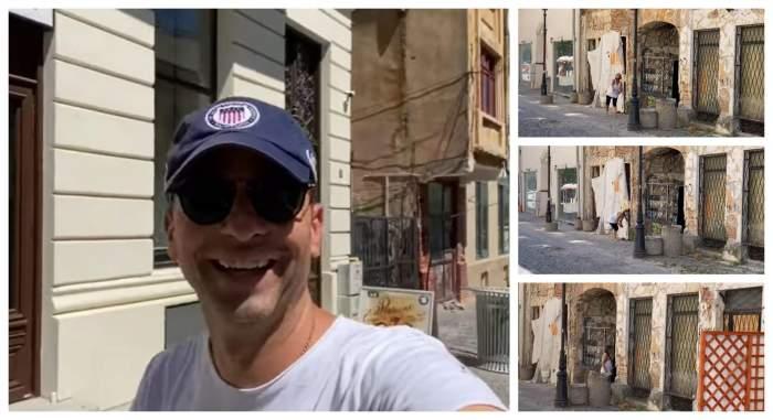 """Dan Negru, atacat cu pietre de rromi, în centrul Capitalei: """"Ne-am trezit ciuruiți"""" / VIDEO"""