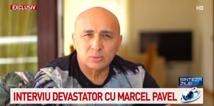 Marcel Pavel, mesaj dur pentru cei care l-au vorbit de rău când era în spital