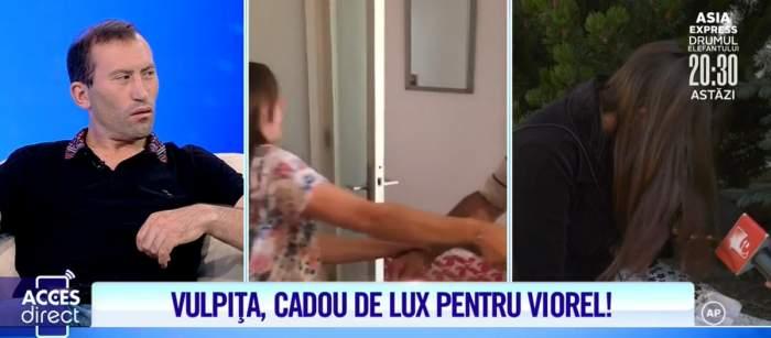 """Lacrimi amare pentru Vulpița! Imagini interzise cu ea și Viorel înainte de plecarea din București! """"M-ai distrus Viorele"""" / VIDEO"""
