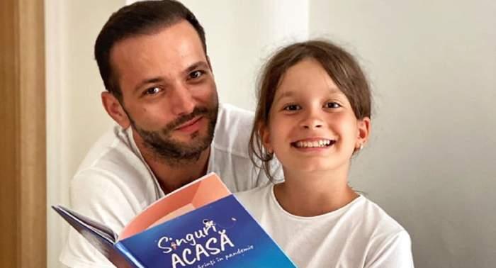 Fiica lui Mihai Morar este prezentatoare