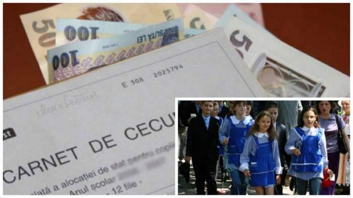 Dublarea alocațiilor copiilor, posibilă înainte de 1 august! Câți bani ar putea primi cei mici! Anunțul Curții Constituționale!