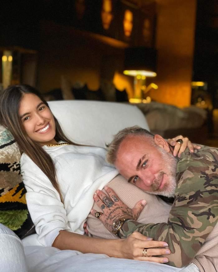 Sharon Fonseca și Gianluca Vacchi, părinți de fetiță. Vestea a fost dată în cel mai unic mod / VIDEO