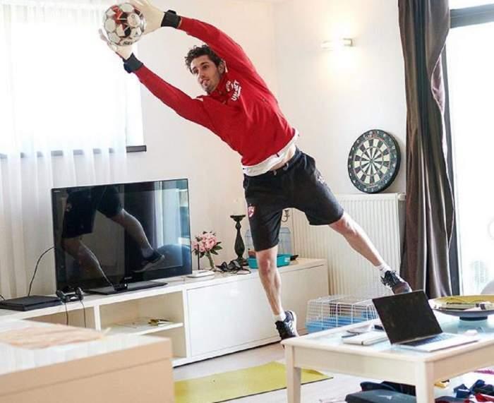 Riccardo Piscitelli joacă la fosta echipă a lui Cristiano Ronaldo! Fotbalistul a refuzat-o pe FCSB