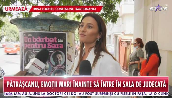 """Primele declarații ale Claudiei Pătrășcanu, înainte să intre în sala de judecată! Ea și Gabi Bădălau au ajuns la tribunal. """"Mi-e teamă"""""""