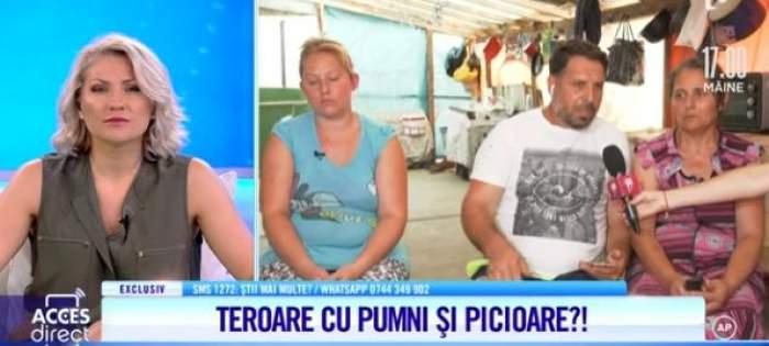 Dramă cumplită pentru o familie din Giurgiu. Oana își acuză vecinii de tâlhărie și violență. De ce poliția nu poate face nimic / VIDEO