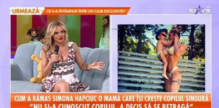 Simona Hapciuc, clipe cumplite! După ce a fost părăsită de tatăl copilului, iar părintele ei a murit, vedeta s-a operat de urgență! / VIDEO