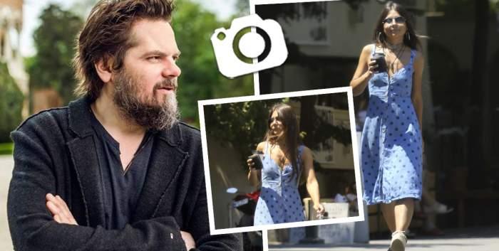 Iubita lui Florin Piersic Jr., apariție provocatoare pe străzile din Capitală! Andreea, cu formele la vedere în cea mai sexy rochiță / PAPARAZZI