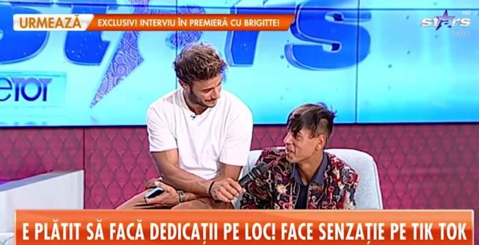 """Povestea de viață a lui Ștefan de la Craiova, tânărul ce a ajuns viral pe Tik Tok! """"Suntem amărâți, numai noi știm"""" / VIDEO"""