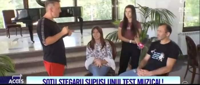 Veronica și Viorel Stegaru iau lecții de canto de la Mihai Trăistariu. Ce spune artistul despre performanța soților Stegaru / VIDEO