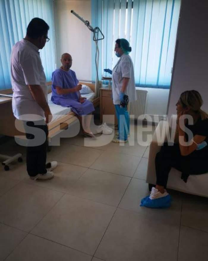 Noemi s-a dus după Mihai Mitoșeru la spital! Blondina, lângă fostul soț, după ce a fost operat de urgență / EXCLUSIV