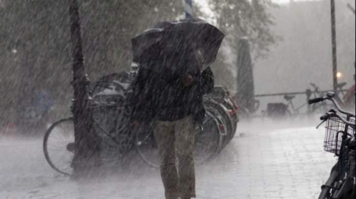 Alertă ANM. Cod galben de ploi și vremea rea pentru mai multe județe din țară