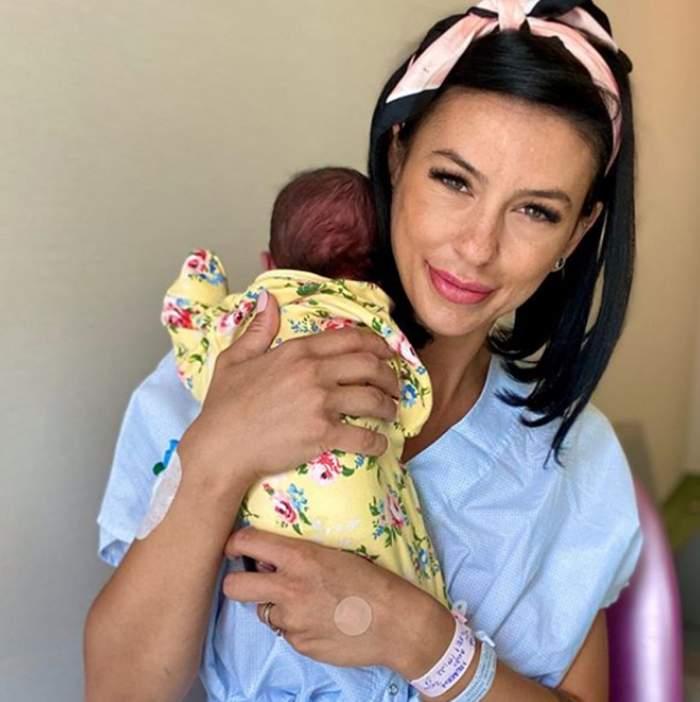 """Soția lui Sergiu Hanca este externată din spital, după ce a născut! Proaspăta mămică se confruntă cu o problemă! """"O să reușesc"""""""