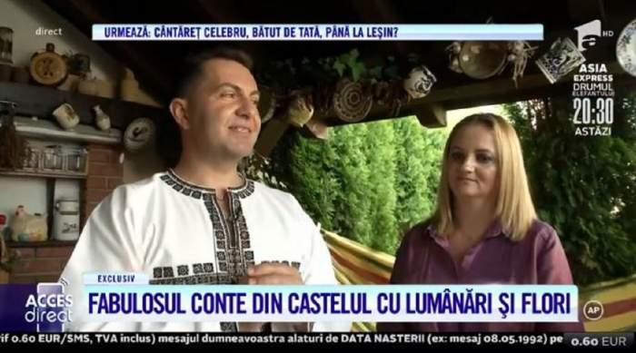 Motivul conflictelor dintre Robert Târnăveanu și soția lui! Cei doi locuiesc într-o casă asemeni unui castel, cu flori și lumânări! / VIDEO