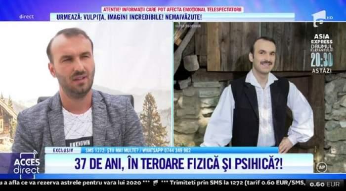 """Artistul Nicușor Micșoniu, terorizat de părinți? """"Leșinam din bătaia pe care mi-o dădea, eram scos la ușă în pielea goală"""" Detalii înfiorătoare! / VIDEO"""