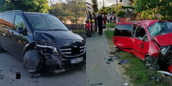 O femeie a murit, iar alte au fost rănite, în Argeș, după ce au fost spulberate din fața casei de un șofer beat și fără permis! / FOTO