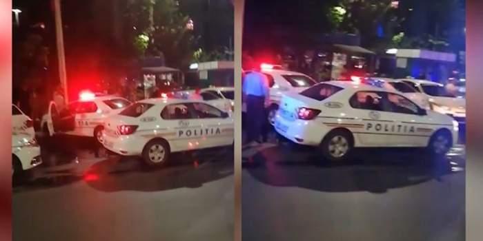 2 pietoni au fost striviți între două autoturisme, în București, după ce o șoferiță a provocat un teribil carambol! / FOTO
