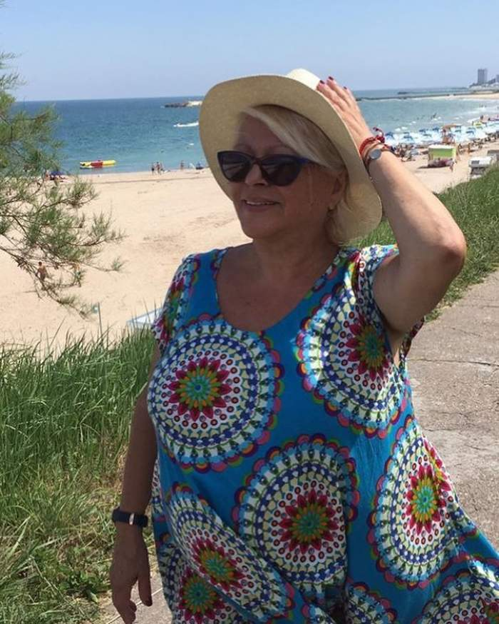 Mirabela Dauer, apariție uluitoare pe plajă. Fără inhibiții, așa s-a afișat vedeta în vârstă de 72 de ani / FOTO