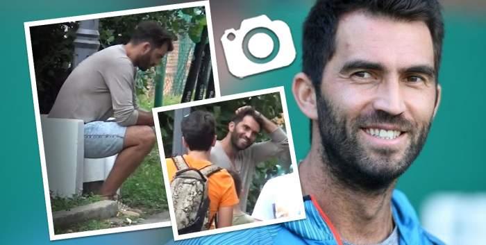 Horia Tecău, asaltat de fani în plină stradă! Ce reacție a avut celebrul tenismen când i s-acerut să facă poze / PAPARAZZI