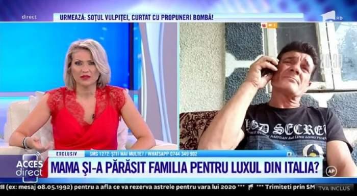 """Costel își imploră soția să se întoarcă acasă, la copii! Femeia e plecată de 10 ani în Italia și nu s-a mai interesat de ei: """"Trăiește cu amant"""" / VIDEO"""
