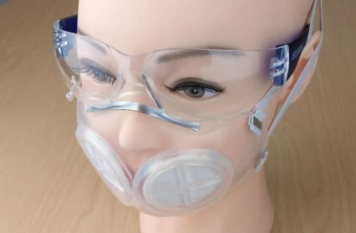 iMASC, cea mai sigură mască de protecție de pe piață! Imagini cu prototipul lansat de americani / FOTO
