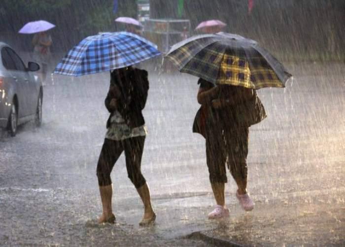 Alertă ANM. Cod galben de ploi și instabilitate atmoferică. Care sunt zonele afectate