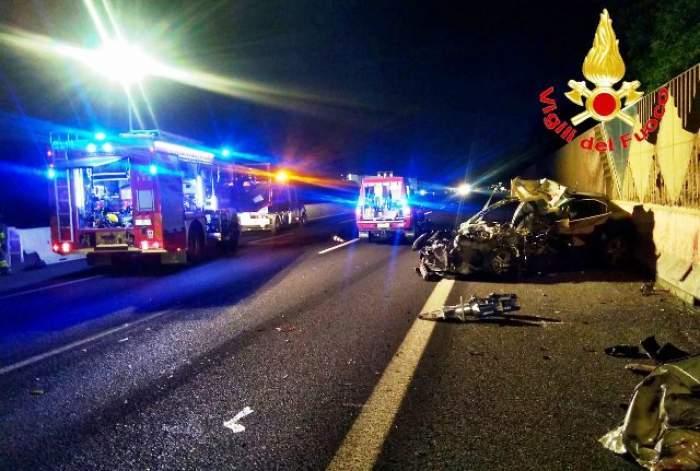 Un tânăr român a murit într-un accident grav în Italia! Mașina lui s-a izbit violent de un alt autovehicul staționat!