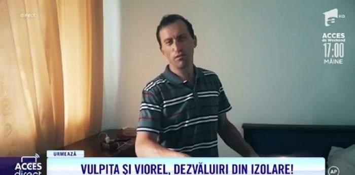 """Viorel nu crede că are coronavirus, chiar dacă a fost confirmat! Mirela Vaida: """"Spune că e o făcătură"""" / VIDEO"""