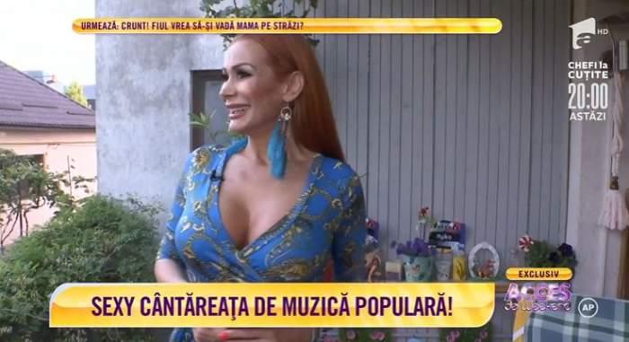Nico Delinescu, cea mai sexy interpretă de muzică populară! Cum arata locuința de lux a artistei / VIDEO