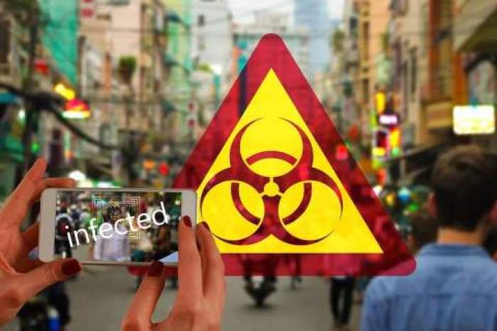 Lista țărilor și zonelor cu risc epidemiologic ridicat. 44 de state sunt vizate