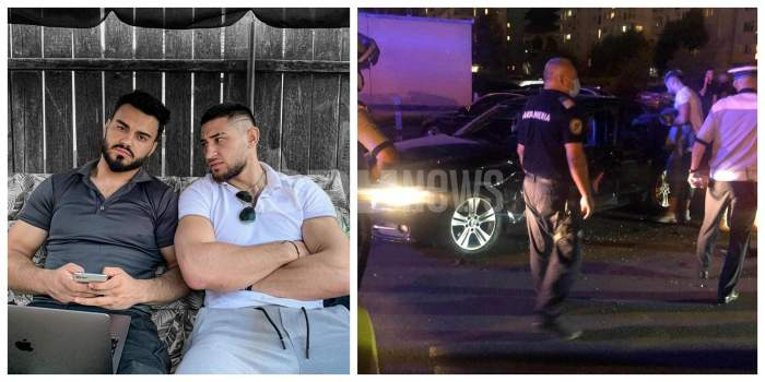 Bogdan Mocanu, la un pas de tragedie! Prietenul lui Jador, implicat într-un accident de mașină / VIDEO