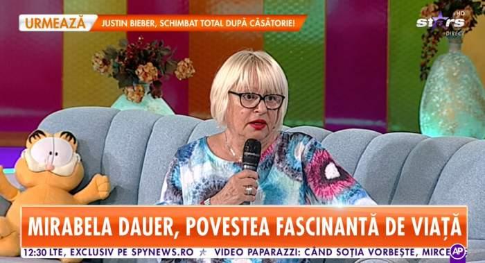 """Mirabela Dauer, îndrăgostită nebunește de un actor celebru. """"Este frumos oricând"""""""