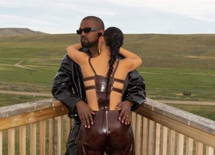 """Kanye West, gest emoționant pentru Kim Kardashian. Artistul i-a cerut iertare în public: """"Știu că ți-am facut rău"""""""