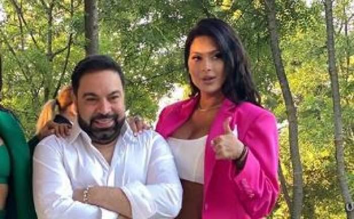 Roxana Dobre și Florin Salam, sărut pătimaș pe rețelele de socializare! Cum s-au afișat cei doi / FOTO
