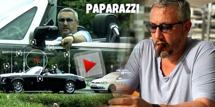 Aroganțele unuia dintre cei mai șmecheri milionari din România! Cum își așteaptă Joshua Castellano amenda de la poliție / PAPARAZZI