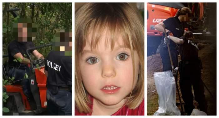 Acțiune de căutare a micuței Madeleine McCann, fetița dispărută în anul 2007! Mai multe excavatoare și câini de urmă sunt folosite în Hannovra