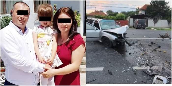 În ce stare se află Ramona, singura supraviețuitoare a accidentului din Craiova! Soțul și fiica au murit pe loc