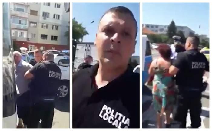 Șofer de autobuz din Bacău încătușat, pentru că nu purta mască de protecție! Cum au reacționat martorii / VIDEO