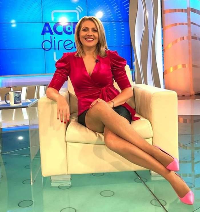 """Ce face Mirela Vaida în izolare, după ce emisiunea """"Acces Direct"""" a anunțat că nu mai e live! / VIDEO"""