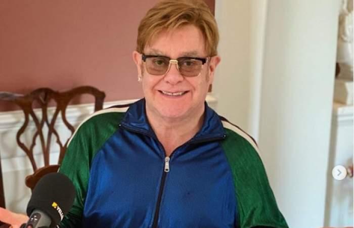 """Elton John, 30 de ani fără droguri și alcool. Artistul, mesaj emoționant pentru fanii lui: """"Eram mort"""""""
