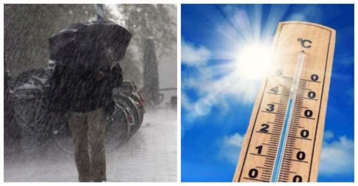 România, între două coduri galbene! Caniculă și furtuni până sâmbătă dimineață! Ce zone sunt afectate