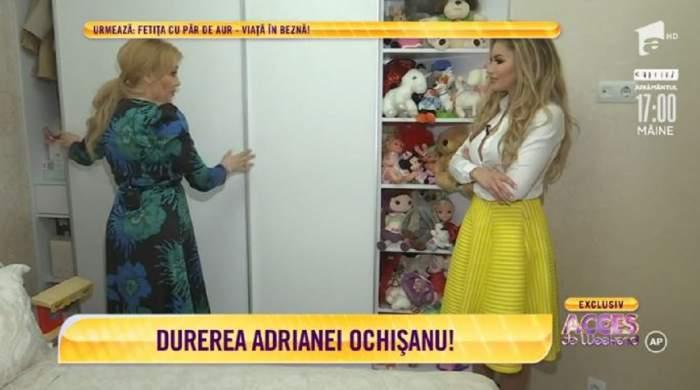 """Adriana Ochișanu, totul despre al treilea copil! """"În fiecare zi mă bate la cap"""" / VIDEO"""